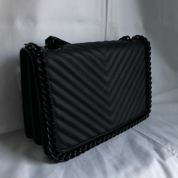 f2d3a8039d7 Aldo Greenwald Quilted Chained Crossbody Bag
